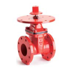 AWWA C515 Resilient seated NRS gate valve-flange end with indicator